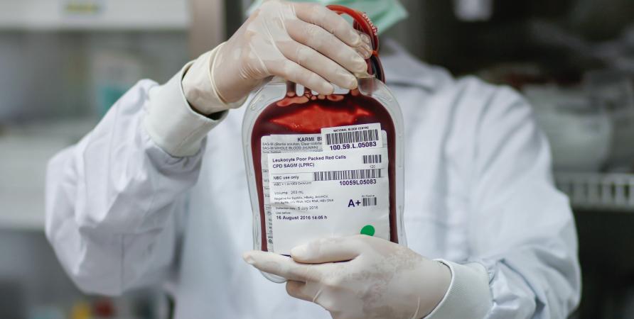 Blood Bag Label